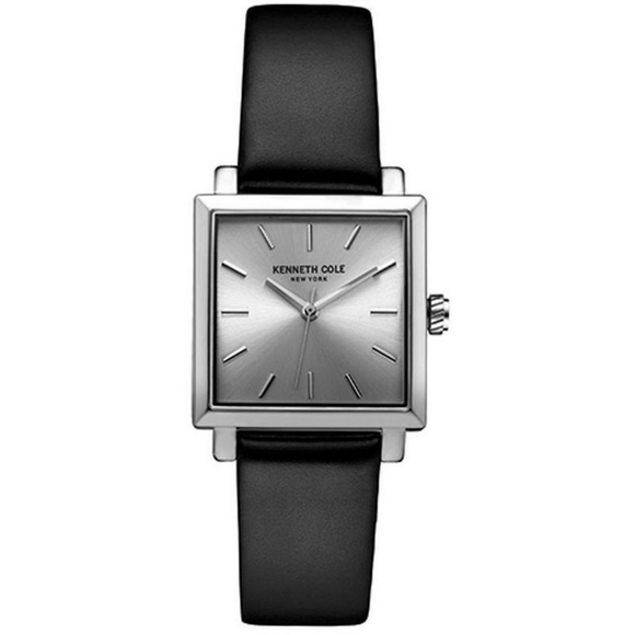 4f0e6f8bc7d Kenneth Cole 10030821 Women s Black Leather Band